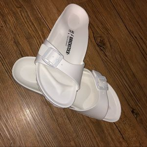 BRAND NEW White Birkenstock's Sandals